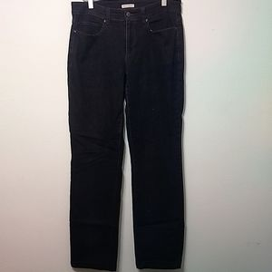 Eileen Fisher | Charcoal Straight Leg Jeans - 6